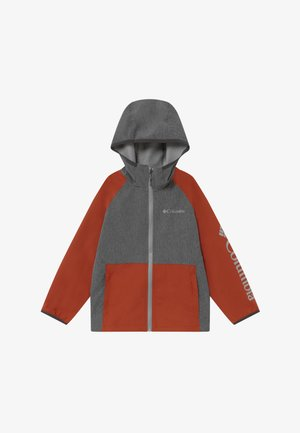 ROCKY RANGE UNISEX - Soft shell jacket - shark/carnelian red