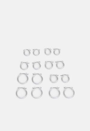 GITLINA EARRINGS 8 PACK - Earrings - silver-coloured