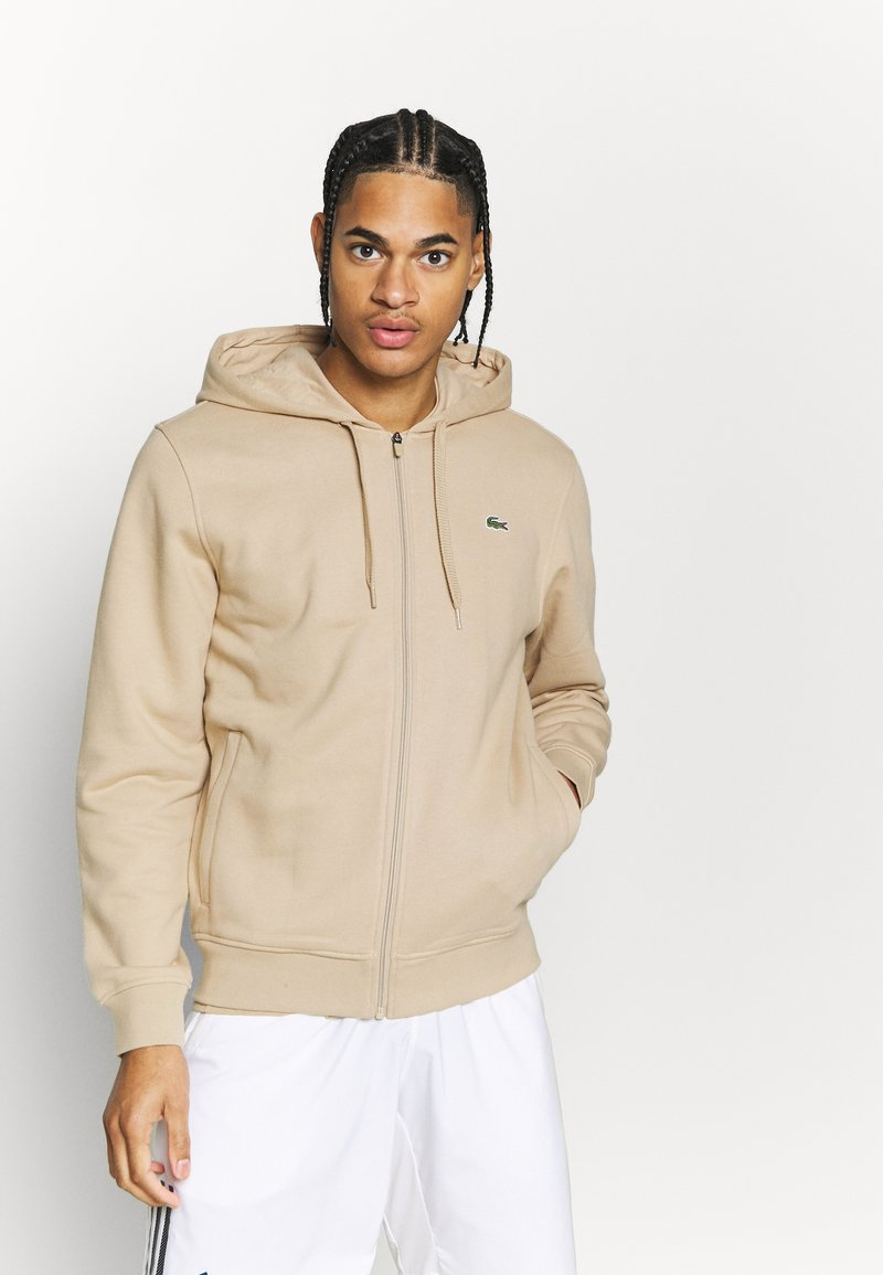 Lacoste Sport - CLASSIC HOODIE JACKET - Jersey con capucha - viennese