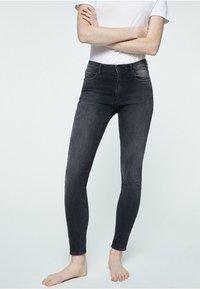 ARMEDANGELS - TILLY - Slim fit jeans - grey wash - 0