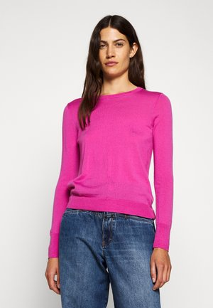 MARGOT CREWNECK - Svetr - soft azalea