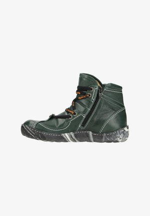 EJECT OCEAN - Wedge Ankle Boots - dark green