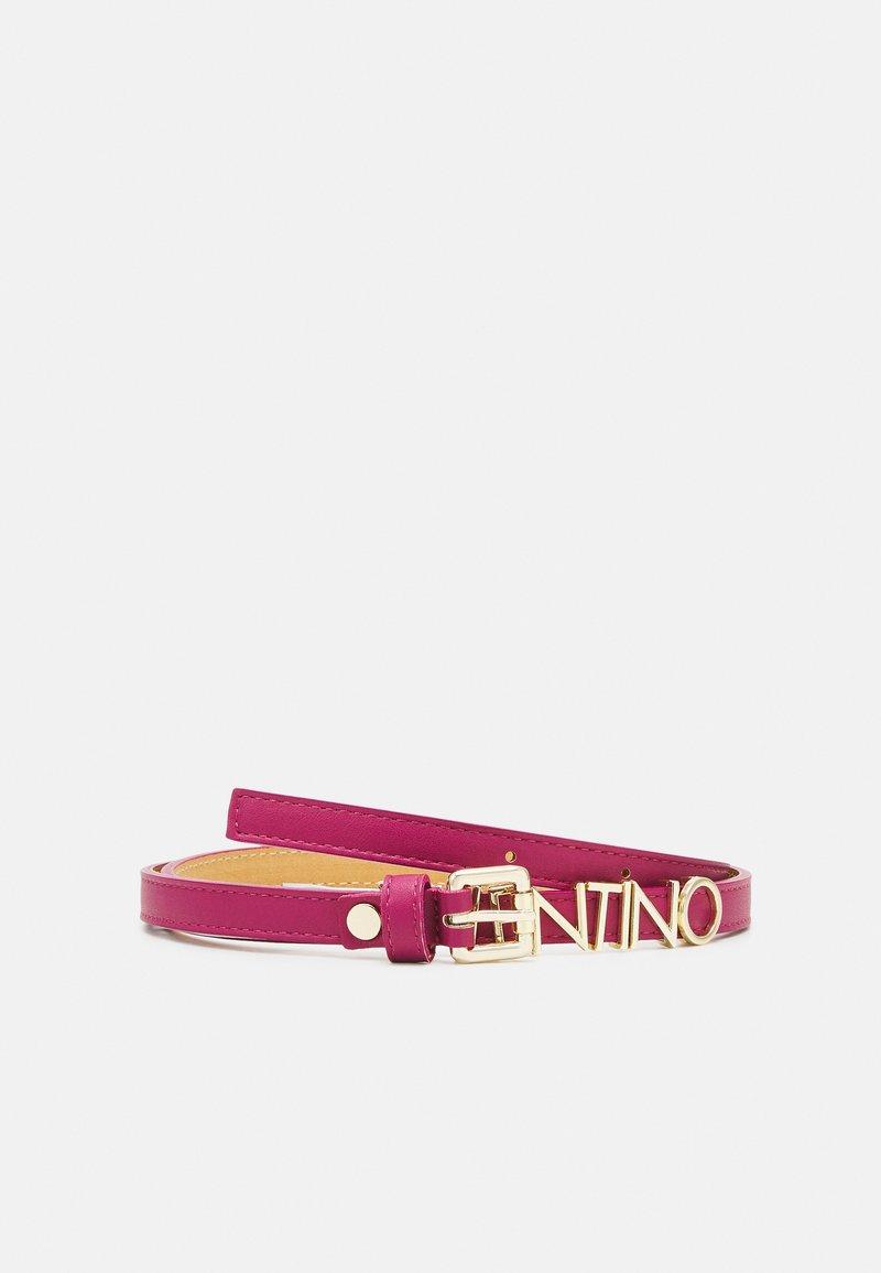 Valentino Bags - EMMA WINTER - Belt - magenta/oro