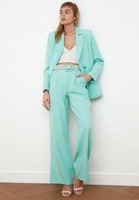 Trendyol - Pantalon classique - light blue - 2