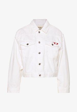 DE-CATY - Denim jacket - white