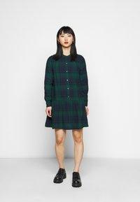 GAP Petite - Shirt dress - blackwatch - 0