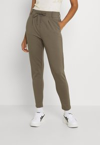 ONLY - POPTRASH EASY COLOUR PANT - Trousers - bungee cord - 0