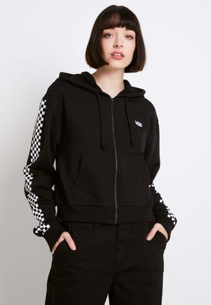 FUNNIER TIMES  - Zip-up hoodie - black