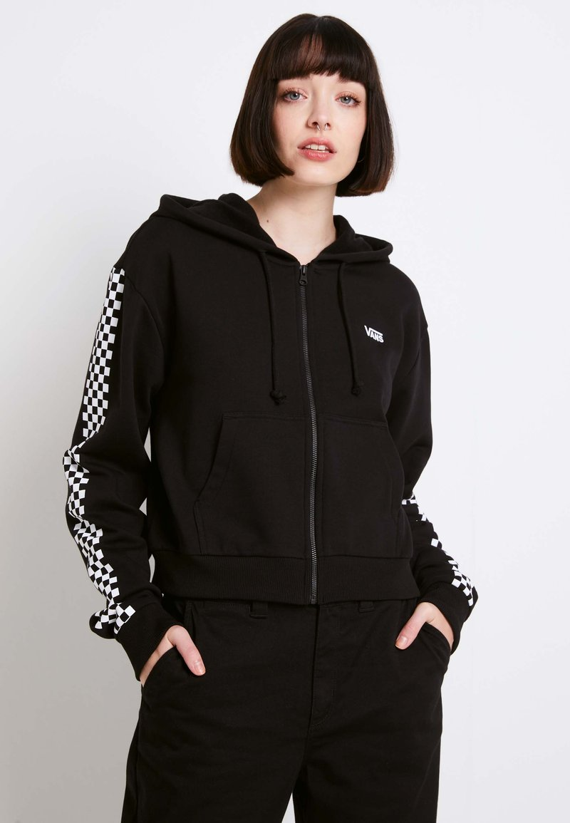 Vans - FUNNIER TIMES  - Zip-up hoodie - black