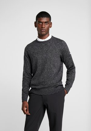 CREWNECK - Sweter - black heather