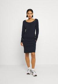 Ragwear - PENELOPE - Jersey dress - navy - 0