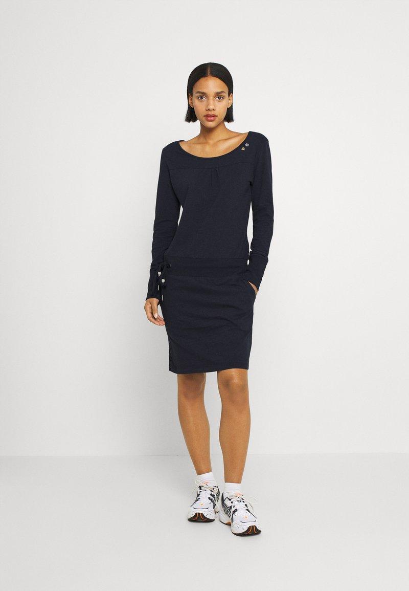 Ragwear - PENELOPE - Jersey dress - navy