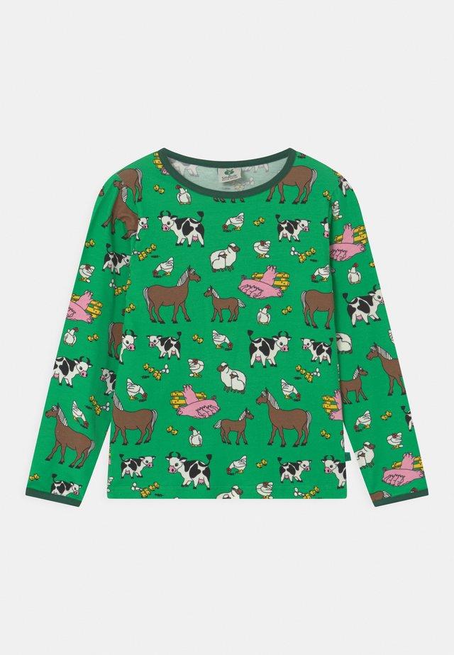 FARM UNISEX - Langærmede T-shirts - apple green