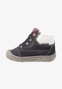 Geox - OMAR GIRL WPF - Lær-at-gå-sko - dark grey - 1