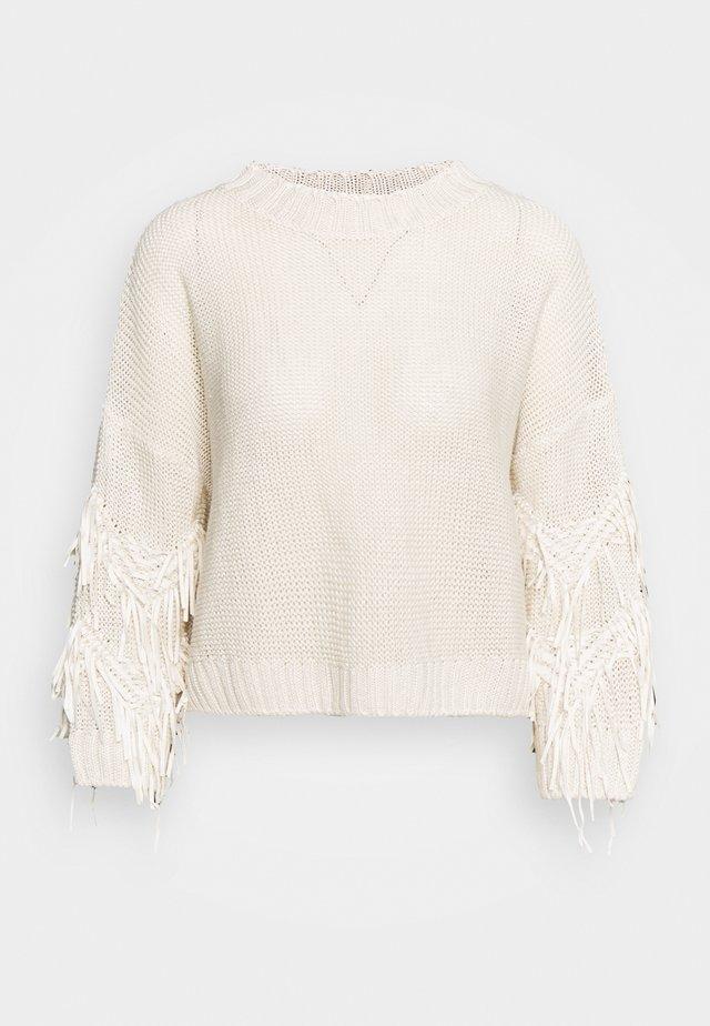 ESTROSO - Pullover - elfenbeinfarben