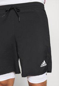 adidas Performance - SHORT - Short de sport - black/white - 4