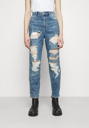 MOM - Straight leg jeans - acid wash