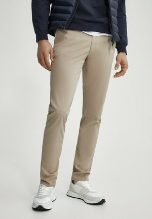 SLIM FIT - Chinos - beige