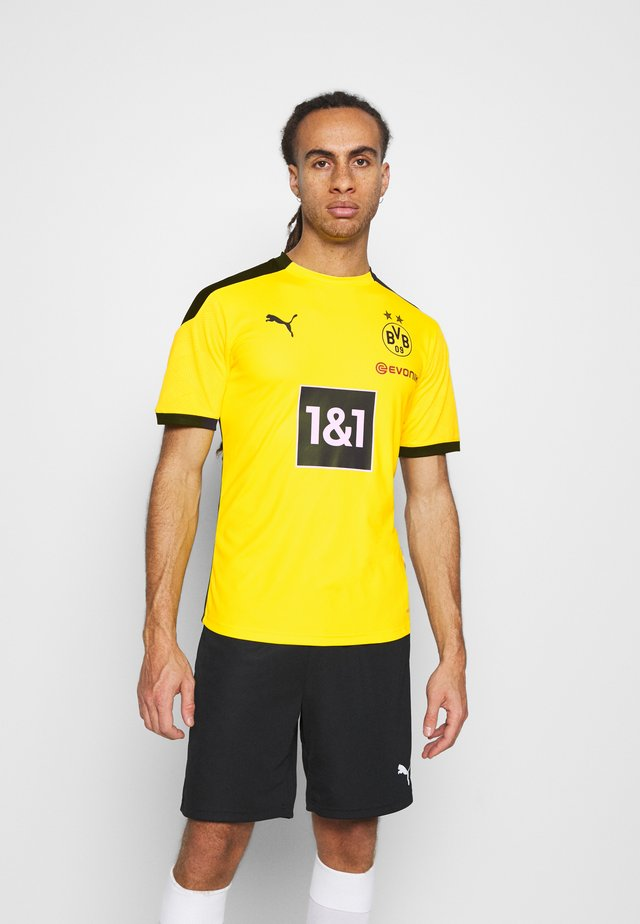 BVB BORUSSIA DORTMUND TRAINING - Club wear - cyber yellow/black