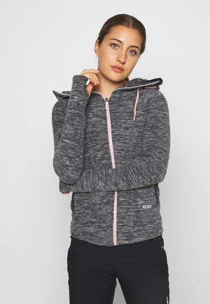 ELECT FEELIN - Fleece jacket - anthracite