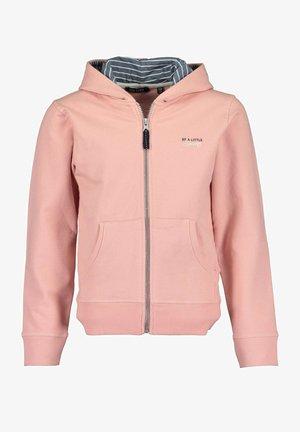 Sweater met rits -  rosa