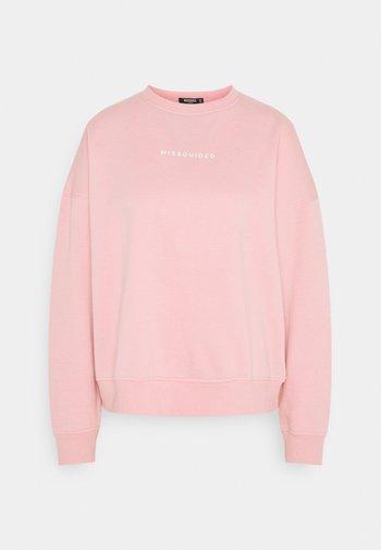 BASIC - Sweatshirt - pink