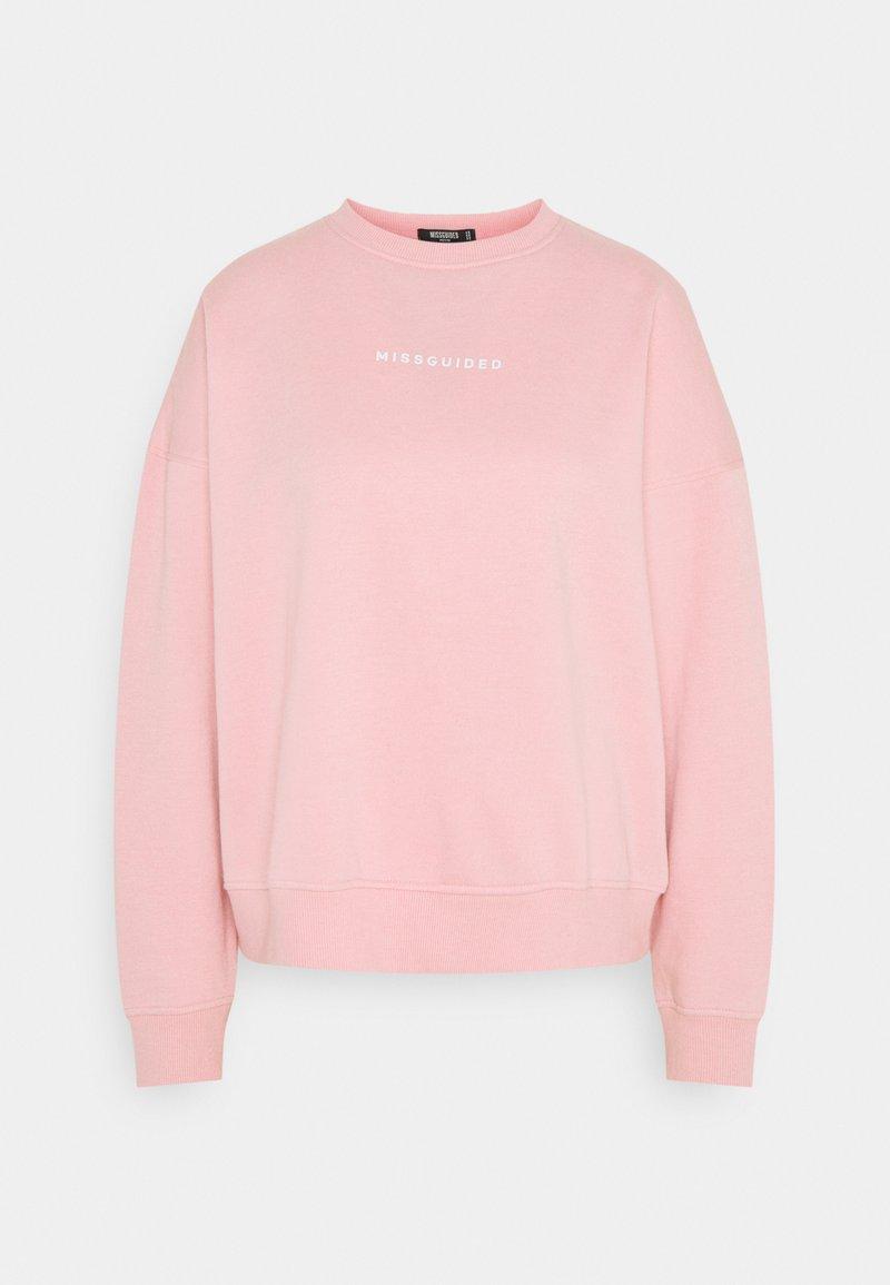 Missguided Petite - BASIC - Sweatshirt - pink