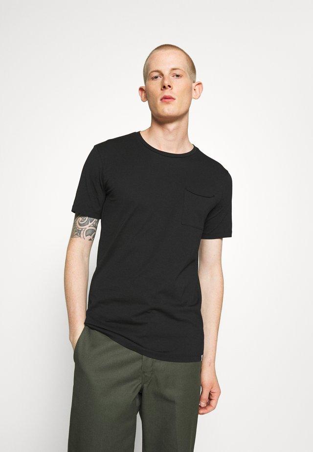 NOWA - T-shirt basique - black