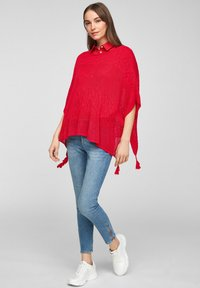 s.Oliver - Cape - red - 1