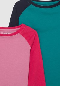Friboo - 4 PACK - Longsleeve - pink/dark blue/turquoise - 3