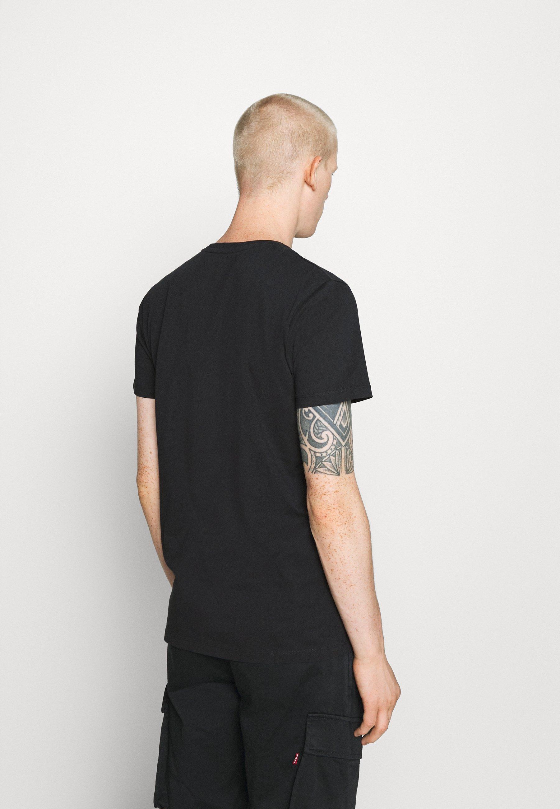 Esprit Print T-shirt - black i8HyB