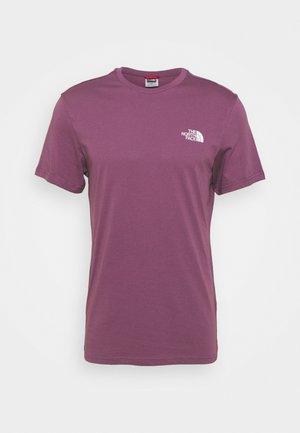 SIMPLE DOME TEE - T-shirt basic - pikes purple