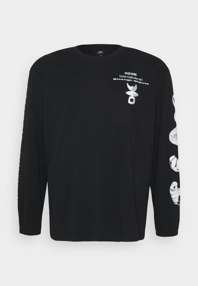 STRANGE OBJECTS - Long sleeved top - black