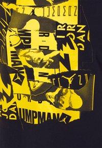Jordan - BRAND CREW - T-shirt con stampa - black/tour yellow - 2