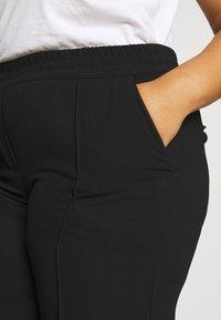 CAPSULE by Simply Be - PULL ON KAREN CREPE - Trousers - black - 4