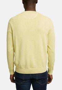 Esprit - Jumper - light yellow - 8