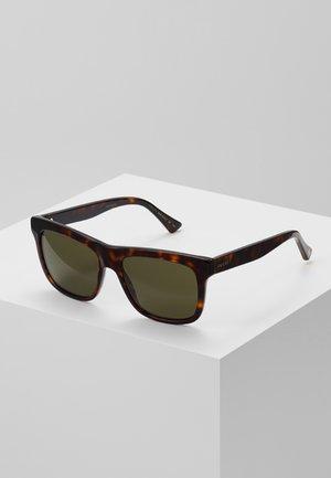 Sunglasses - havana/green