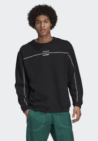 adidas Originals - CREW SWEATSHIRT - Sweatshirt - black - 0