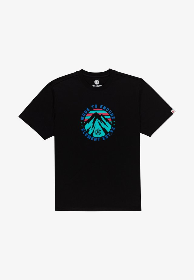 LYMONT - T-shirt imprimé - flint black