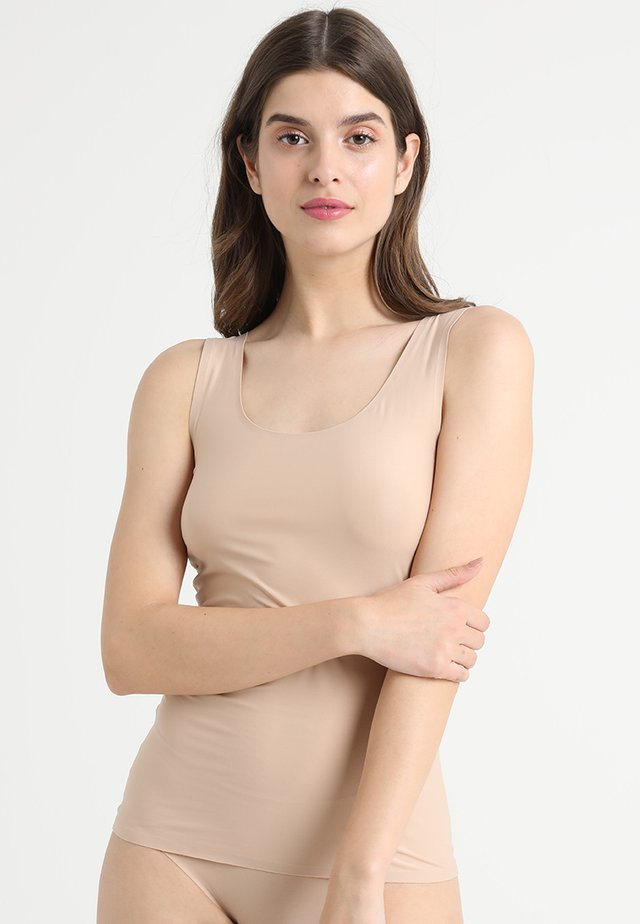 SOFTSTRETCH TOP - Unterhemd/-shirt - nude