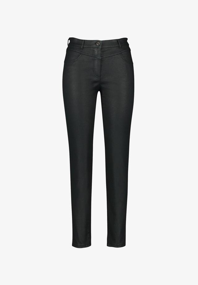 Pantalon classique - dark emerald