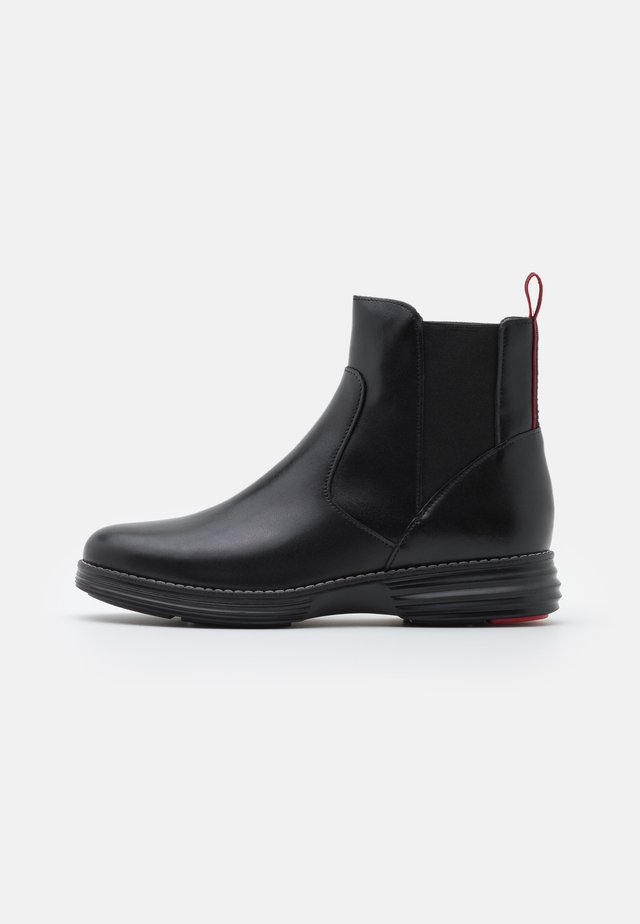 ORIGINALGRAND CHELSEA BOOTIE - Bottines - black/red tango