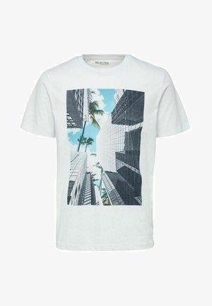 DIGITAL - Print T-shirt - brilliant white