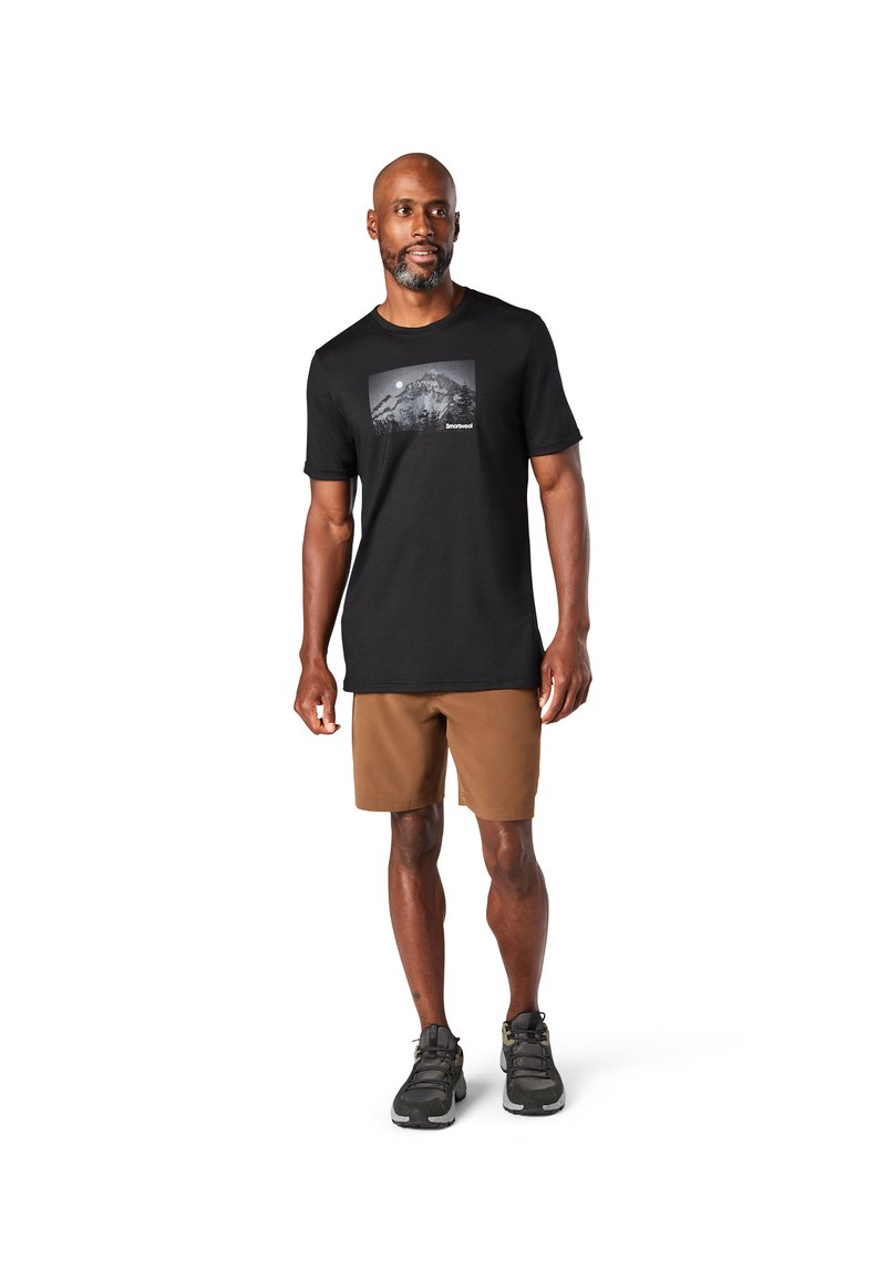 Smartwool - T-shirt print - black