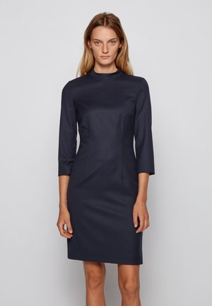 Shift dress - open blue