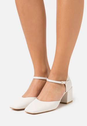 Classic heels - offwhite