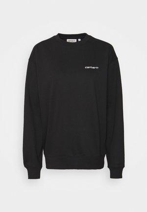 SCRIPT   - Sweatshirt - black/white