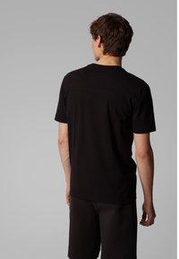 BOSS - TEE 5 - Print T-shirt - anthracite - 2