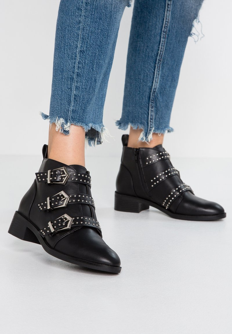 ONLY SHOES - Boots à talons - black