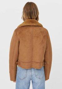 Stradivarius - Light jacket - light brown - 2